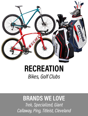 pawn-shop-sell-used-recreation-equipment